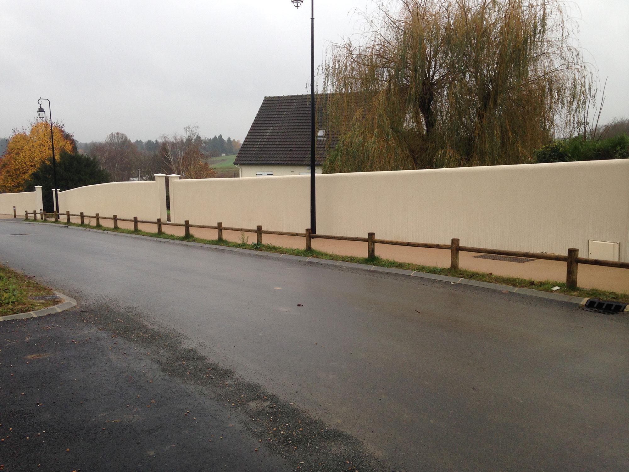 Muret-de-clôture